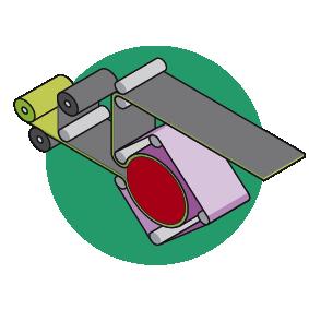 Belt calender machine