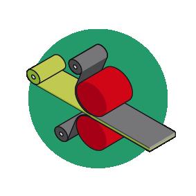 Regular calender machine