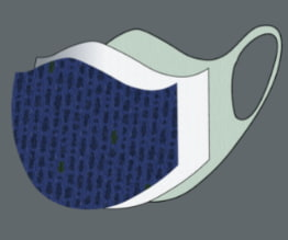 Washable mask filtration function