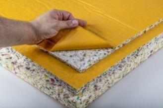 Insulating foam bonding